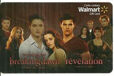 RARE / CARTE CADEAU : TWILIGHT avec ROBERT PATTINSON, KRISTEN STEWART / CARD