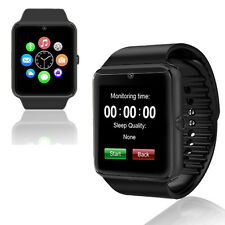 UNLOCKED! GSM Wireless + Bluetooth 2-in-1 Smart Watch Phone Camera Sim-Card Slot