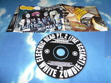 WHITE ZOMBIE -ELECTRIC HEAD PART 2 UK CD SINGLE W/RARE MIXES LTD TOUR SOUVENIR