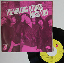 "Vinyle 45T The Rolling Stones  ""Miss you"""