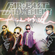 FAR EAST MOVEMENT Free Wired 2010 UK SIGNED / AUTOGRAPHED 10-track CD + CoA