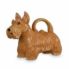 Scottish Terrier Wheaton Dog Teapot Ceramic Teapot Blue Sky Boxed