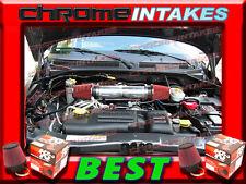 K&N+BLACK RED DUAL 2000-2003 DODGE DAKOTA/DURANGO/RAM 4.7L V8 AIR INTAKE KIT