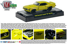 M2 MACHINES 1:64 SCALE DIECAST METAL YELLOW 1969 CHEVROLET SS396/L89 CAMARO