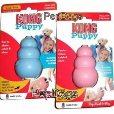 KONG Puppy SMALL Rubber Teething Dog Treat Chew Toy KP3 - MADE IN USA