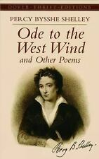 Ode to the West Wind and Other Poems, Percy Bysshe Shelley, Good Book