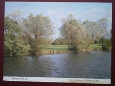 POSTCARD OXFORDSHIRE OXFORD - WHITE POPLAR TREES ALONG THE THAMES