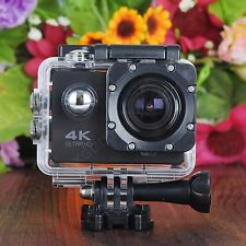 Ultra HD 4K Waterpoof Action Camera DV Sports Camcorder Helmet Video Cam WiFi
