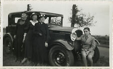 PHOTO ANCIENNE - VINTAGE SNAPSHOT - VOITURE TACOT AUTOMOBILE AUTO MODE - CAR