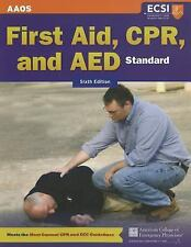 Standard First Aid, CPR, And AED by American Academy of Orthopaedic Surgeons (A