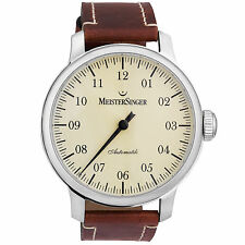MeisterSinger Granmatik 52mm Men's Automatic Single Hand Watch GM303 Swiss Made