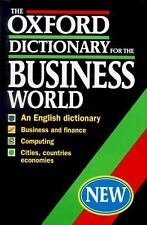 The Oxford Dictionary for the Business World