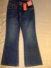 NWT Gymboree CUTEST COWGIRL denim blue jeans pants clear stone accents ~ girls 8