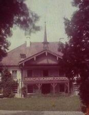 Unknown Villa/Building, Amateur Photo Magic Lantern Glass Slide