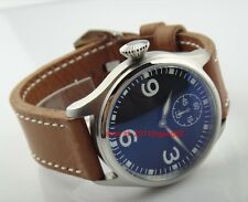 47mm Parnis without logo Left-handed Mechanical Hand winding Men's Watch