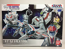 SOLD OUT BANDAI HI-METAL VF-1J Valkyrie Hikaru Macross Transformable 1/100