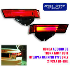 For 2008-2012 Honda Accord G8 Led Tail light Lamp  Japan Back Garnish