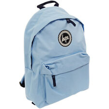 Just Hype Backpack Plain Pastel Blue Bag