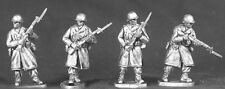 TQD AWi04 20mm Diecast WWII US Winter Infantry with Fixed Beyonets