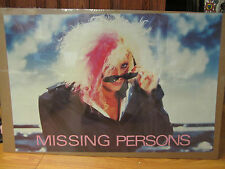 Vintage Missing persons 1984 80's pop rock Poster 10626