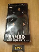 "Vintage RAMBO First Blood Part II Figure 12"" Hardened Weapon & Ammo 2001 N2 Toys"