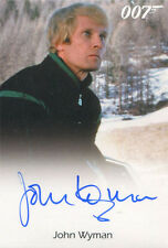 James Bond Archives 2015 Autograph Card John Wyman as Eric Kriegler