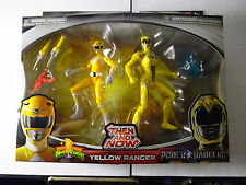 POWER RANGERS - YELLOW  RANGER  THEN AND NOW - MIGHTY MORPHIN & SABAN'S RANGERS