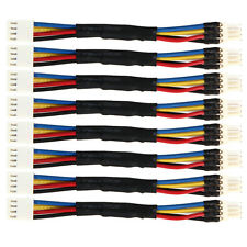 8x Computer PC Fan Speed Reduce 4 Pin Power Resistor Male to Female Cord Adapter