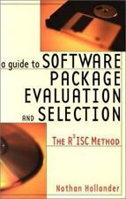 A Guide to Software Package Evaluation & Selection: The R2ISC Method-ExLibrary