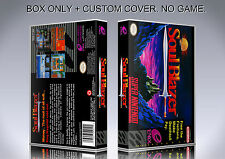 SOUL BLAZER. NTSC VERSION. Box/Case. Super Nintendo. BOX + COVER. (NO GAME).