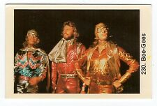 1970s Swedish Pop Star Card #195 British pop group Bee Gees Barry Robin Maurice