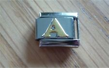 Italian Charms Charm - Gold Letters   Letter A