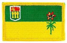 FLAG PATCH PATCHES Saskatchewan IRON ON EMBROIDERED CANADA PROVINCE