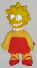 "Plush Lisa 8"" Simpson Doll Wearing Red & Yellow"