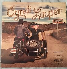 CYNDI LAUPER DETOUR LP EXCLUSIVE BLUE SWIRL COLORED VINYL LP NEW