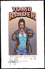 Tomb Raider Museum Edition w/ signed MICHAEL TURNER COVER + JayCo COA NM+ Aspen