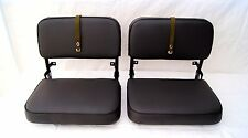 Toyota Land Cruiser FJ40 BJ40 BJ42 Jump Seats fully restored to super condition!