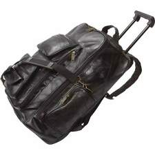 NEW Genuine Leather Trolley/Backpack, Travel easier and in style