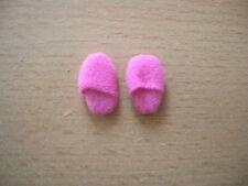Rosa Zapatillas De Estar Por Casa Slippers Dollhouse Muñecas 1:12 Artículo 4310