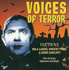 Voices of Terror 2009 by Bela Lugosi EXLibrary