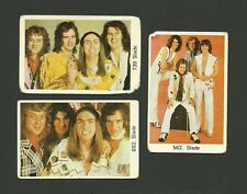 SLADE Band Fab Card Collection Noddy Hodder Jim Lea Dave Hill Don Powell
