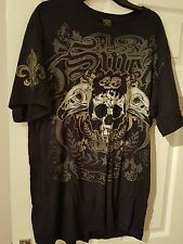 Smet By Christian Audigier XXL para hombre T Shirt