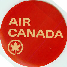 AIR CANADA - Great Old and Classic Airline Luggage Label / Decal, circa 1955