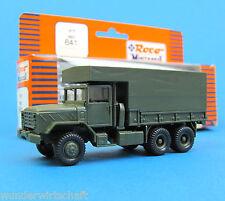 Roco Minitanks H0 641 M923 5to truck mit Sonderaufbau shelter US Army HO 1:87