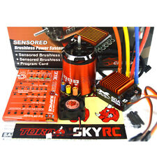 SkyRC Cheetah 1870KV 17.5T Sensored Brushless Motor CS60 60A ESC 1/10 Combo