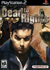 Dead to Rights - Playstation 2 Game Complete