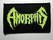 AMORPHIS  DEATH METAL WOVEN  PATCH