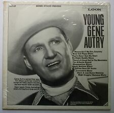 Young Gene Autry Sealed Private Label Fan Club Cowboy LP 1970