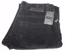 Ermenegildo Zegna UBPHZ GAN 999 Black Corduroy Pants Sz 32/35 NWT $395