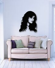 Wall Stickers Vinyl Decal Sexy Beautiful Girl Hairstyles Hair Salon Spa (ig433)